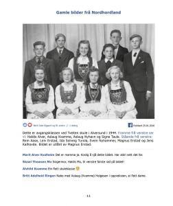 Gamle bilder fra Nordhordland bind 1 - side 11