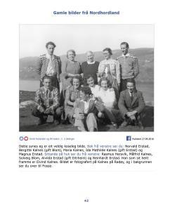 Gamle bilder fra Nordhordland bind 1 - side 42