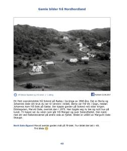 Gamle bilder fra Nordhordland Bind 2 - side 40