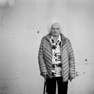 Olga Andås, 89 år