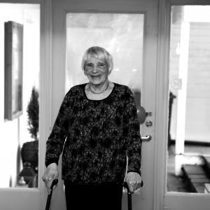 Gunnveig Kvinge, 88 år