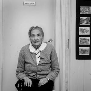 Edith Solbakken, 94 år