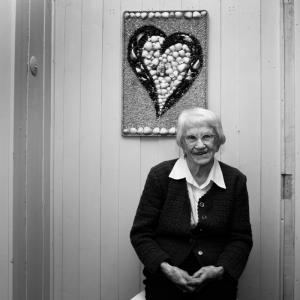 Aslaug Kvinge, 95 år
