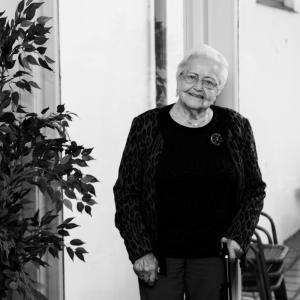 Elsa Kvingedal, 94 år